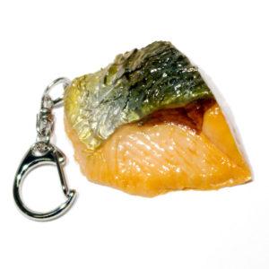 焼鮭のキーホルダー
