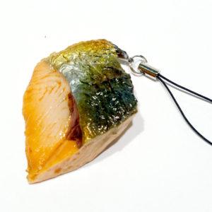 焼鮭のストラップ