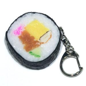 巻き寿司のキーホルダー