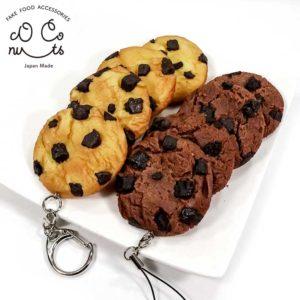 チョコチップクッキーの食品サンプル