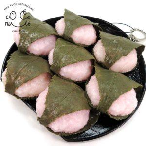 桜餅の食品サンプル