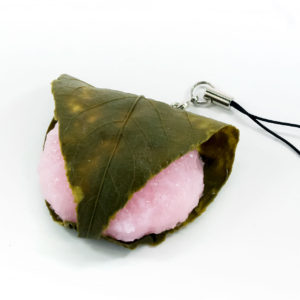 桜餅のストラップ