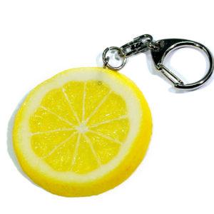 レモンのキーホルダー