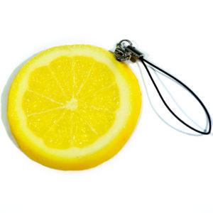 レモンのストラップ
