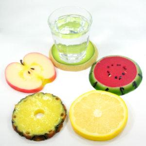 フルーツのコースター