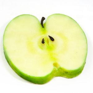 青リンゴのコースター