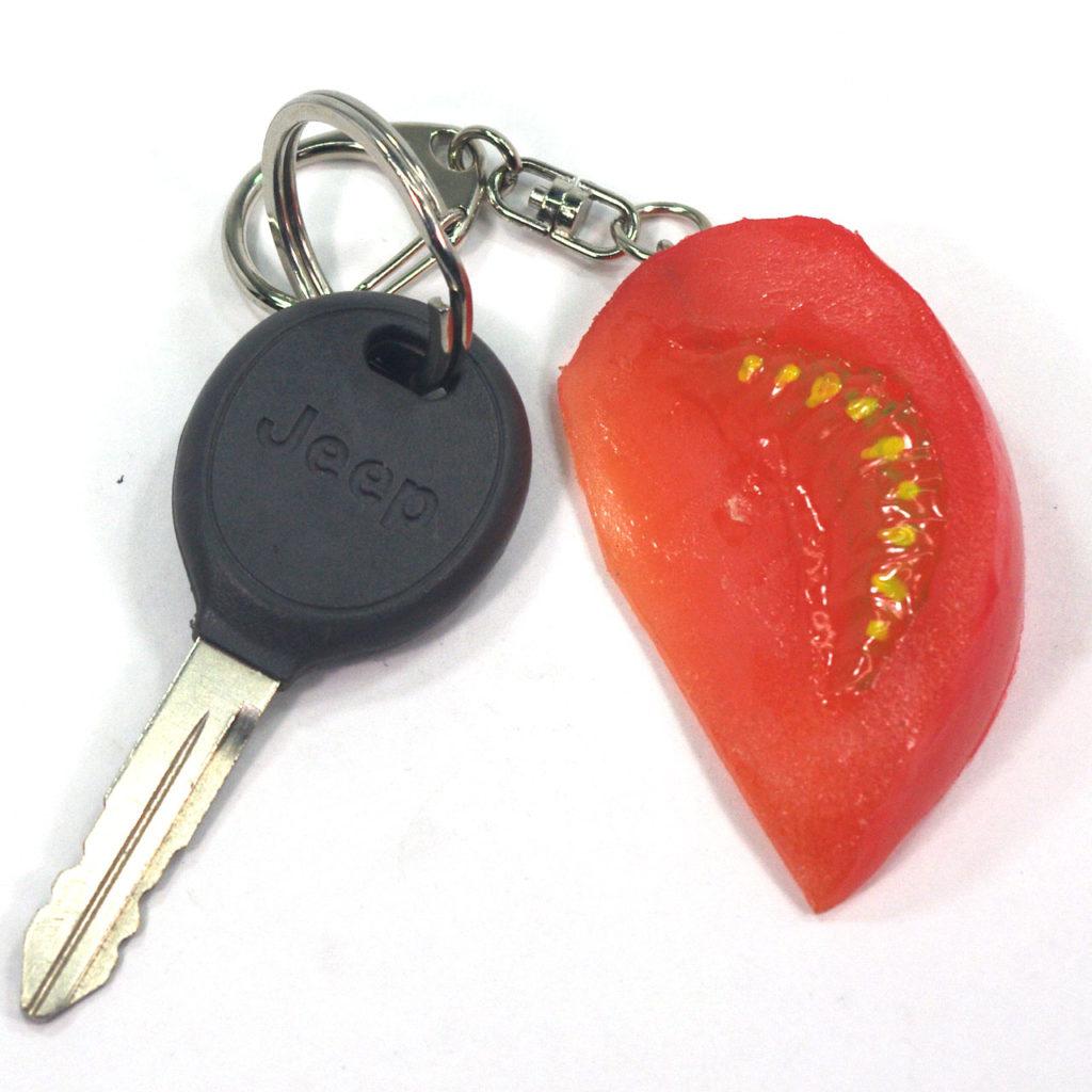 トマトのキーホルダー