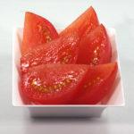 トマトの食品サンプル