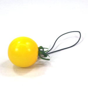 ミニトマト(黄)のストラップ