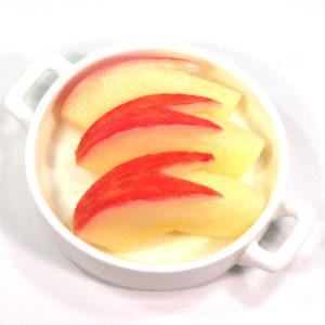 うさぎりんごの食品サンプル