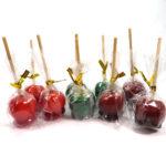 りんご飴の食品サンプルアクセサリー