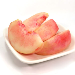 桃の食品サンプル