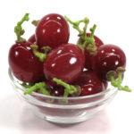 赤ぶどうの食品サンプル