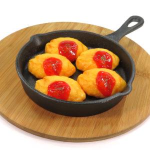 オムレツの食品サンプル
