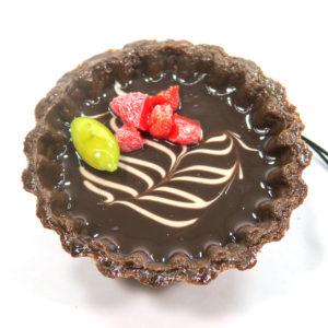 チョコタルト(リーフ)のストラップ