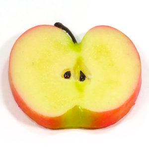 リンゴのフルーツコースターSサイズ
