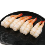 甘エビにぎり寿司の食品サンプル