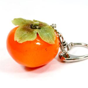 柿まるごとのキーホルダー
