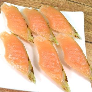 炙りサーモンにぎり寿司