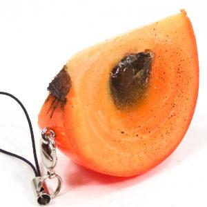 柿カットのストラップ