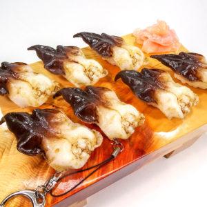 とり貝にぎり寿司の食品サンプル