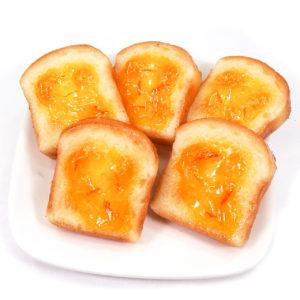 トースト(マーマレード)の食品サンプル
