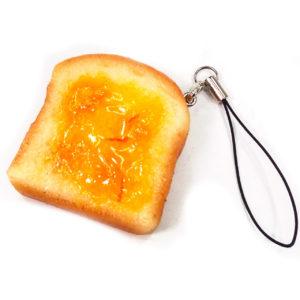 トースト(マーマレード)のストラップ