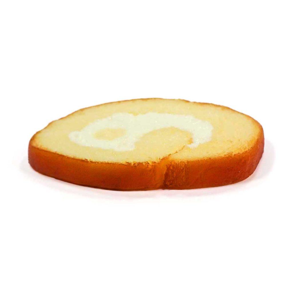 ロールケーキのコースター