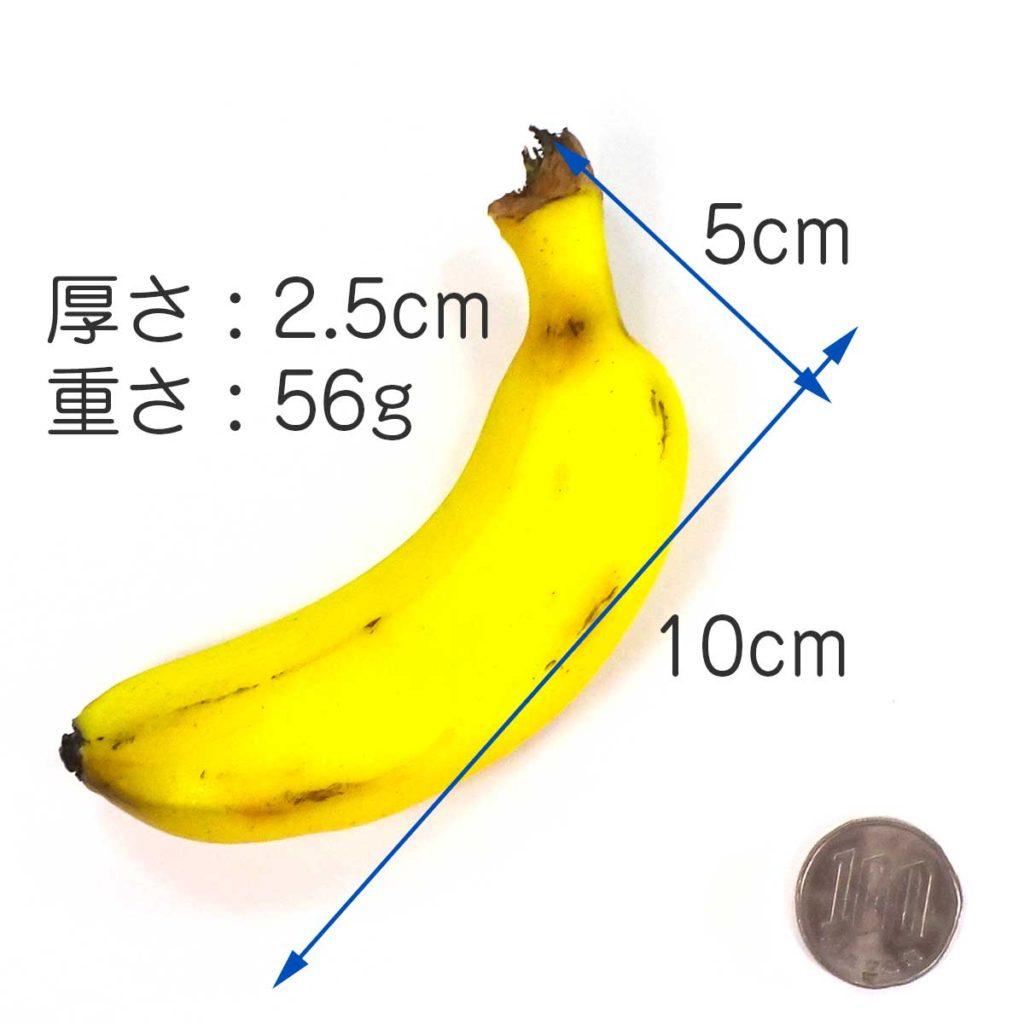 大きさ 10cm×5cm×2.5cm 重さ約56g