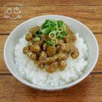 納豆ご飯の食品サンプル