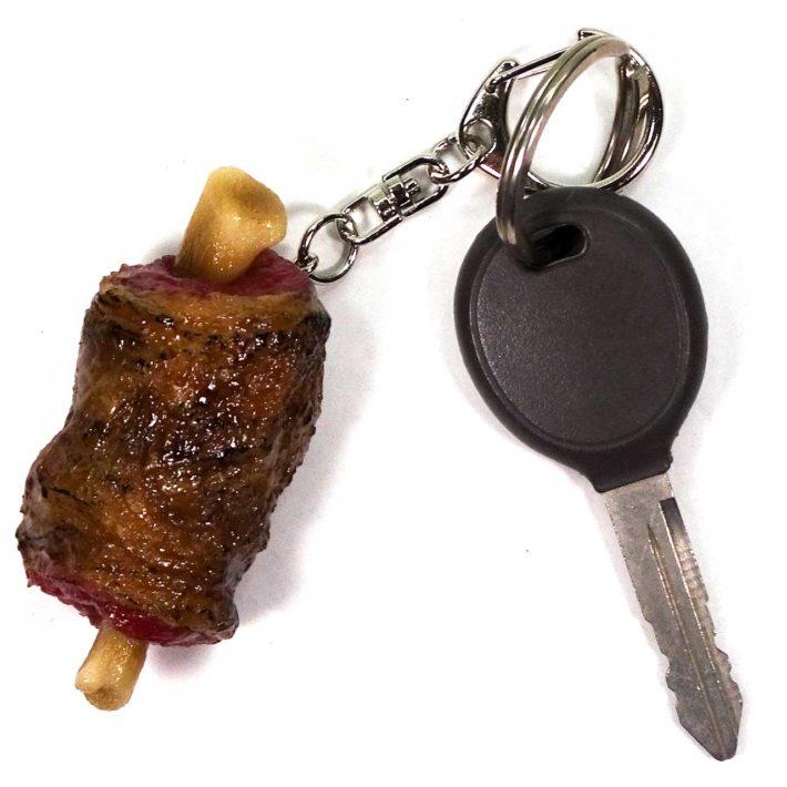 まんが肉のキーホルダー